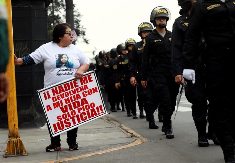 marcha Perú feminicidios