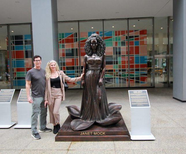 estatuas mujeres Nueva York