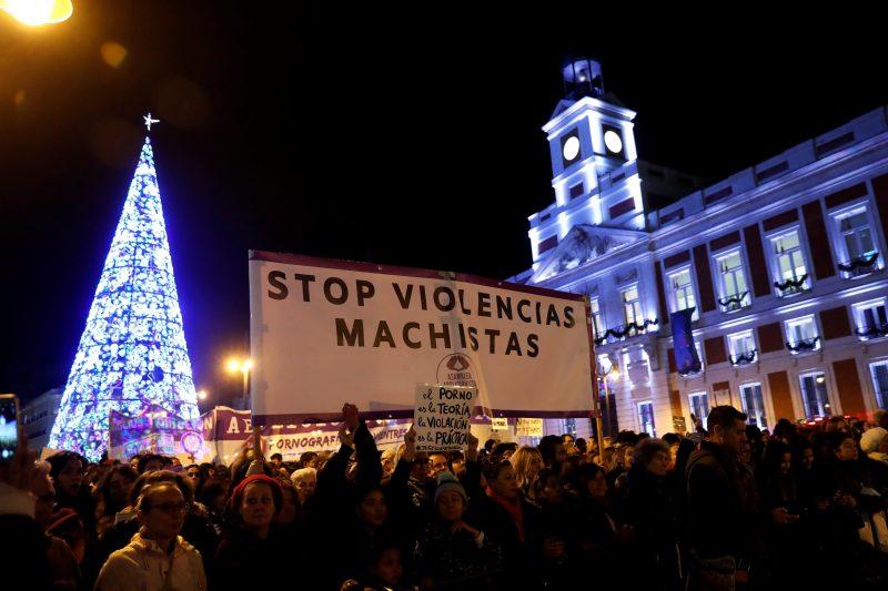 manifestación madrid violencia machista