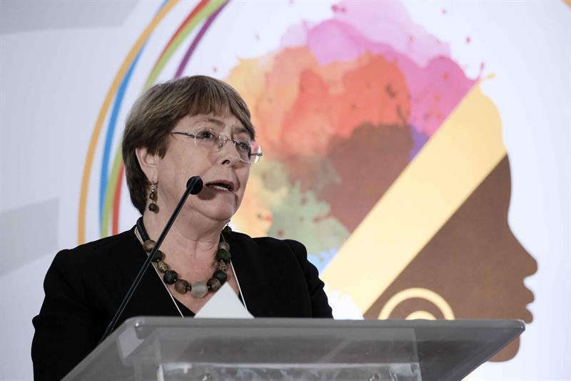 Bachelet afrodescendientes