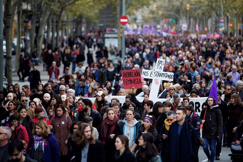 Barcelona Violencia machista