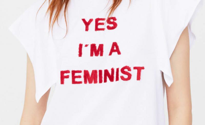 Camiseta feminista machista
