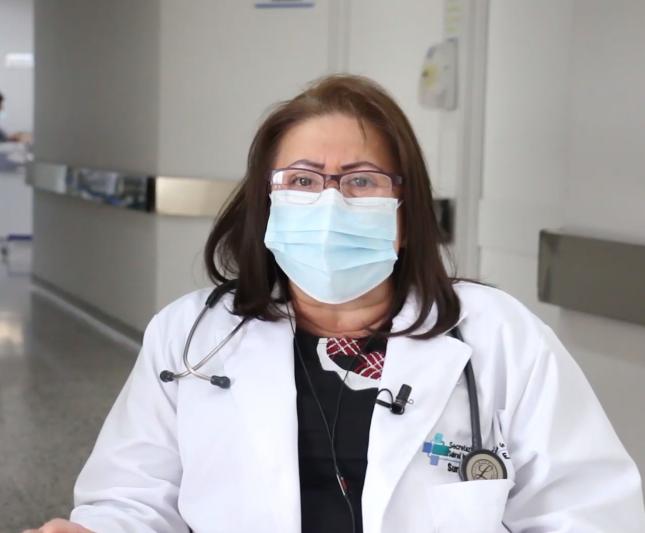 8m Rocío Lobo doctora uci