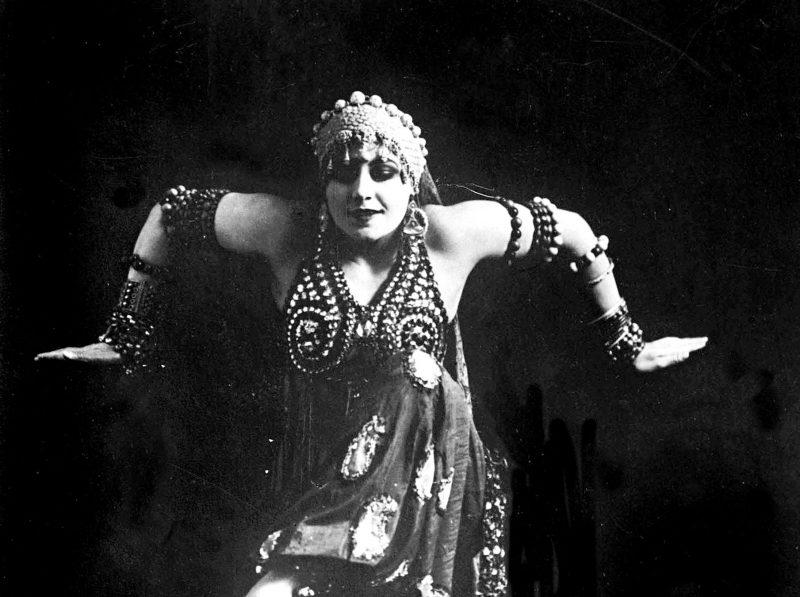 mujeres historia danza