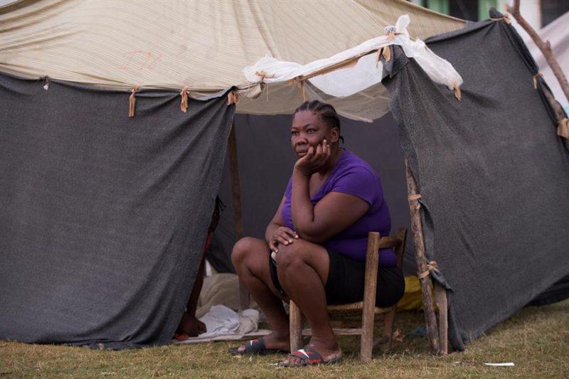 Terremoto Haití mujeres