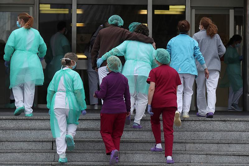 doctoras coronavirus hospital 12 octubre