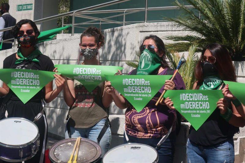ecuatorianas despenalización aborto
