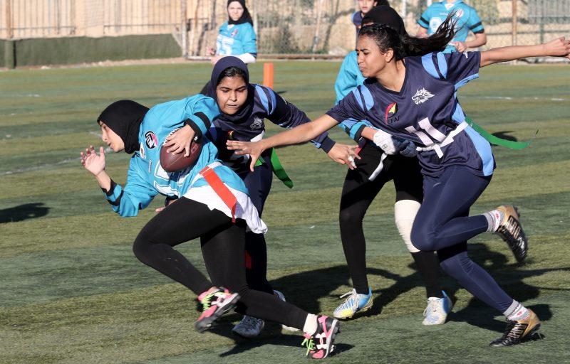 Mujeres fútbol americano Egipto