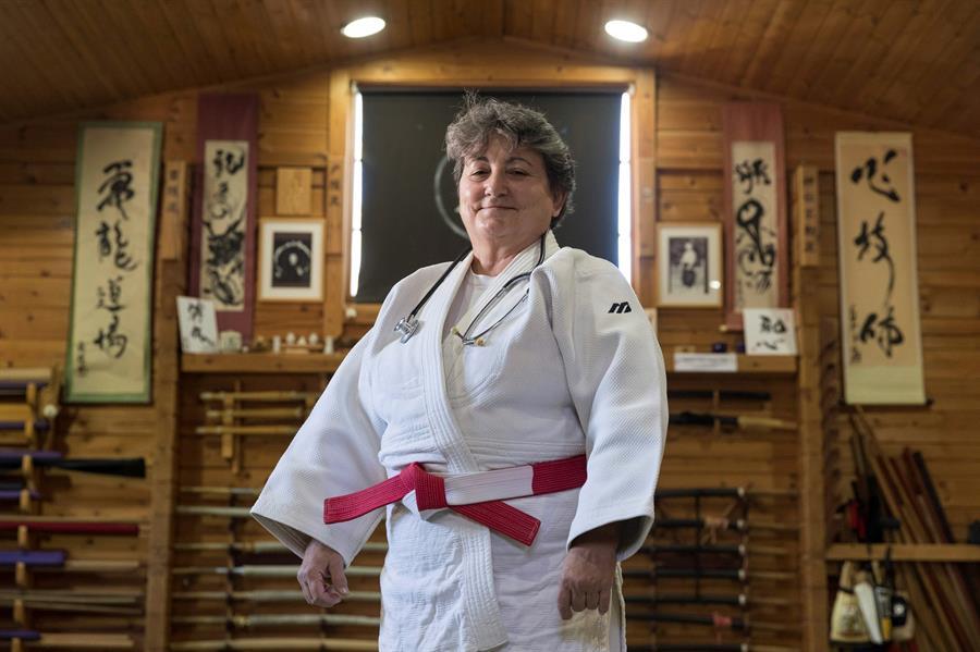 pioneras judo