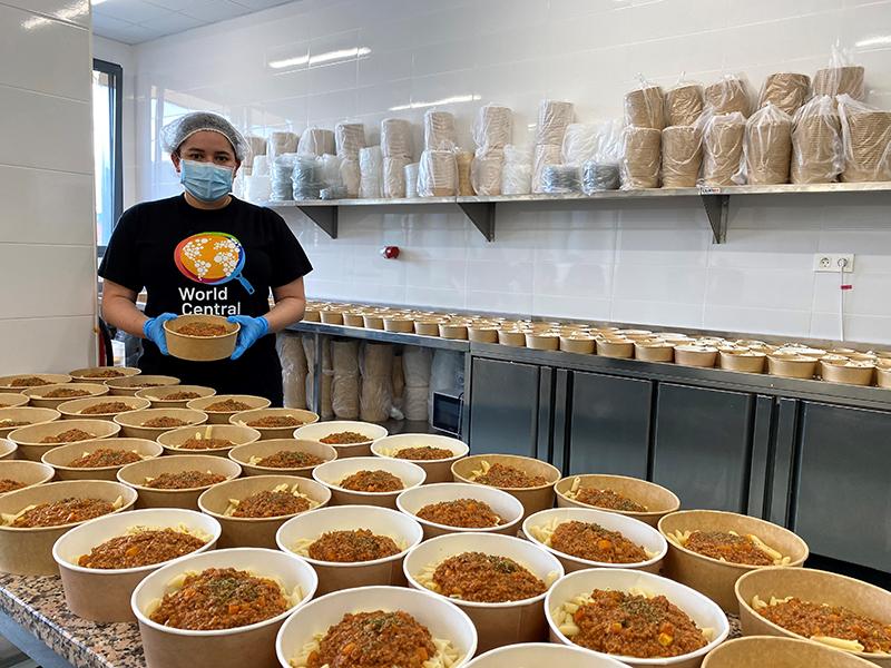 Karla Hoyos world central kitchen