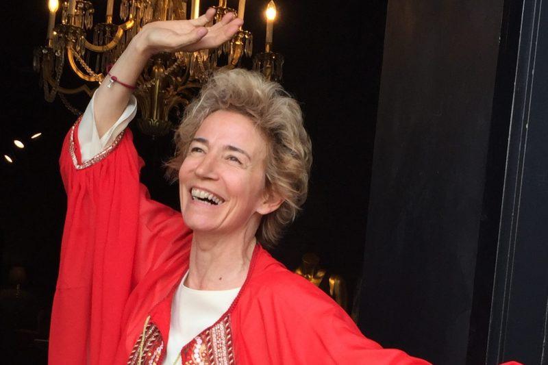 Ángela Labordeta equilibrista