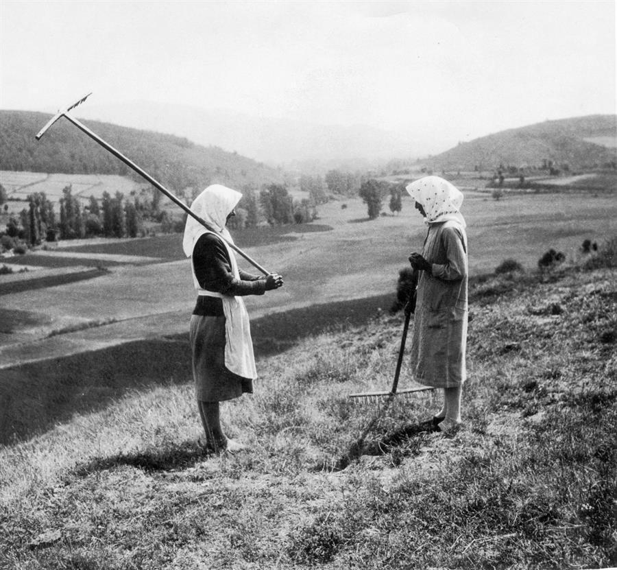 mujeres rurales fotografías