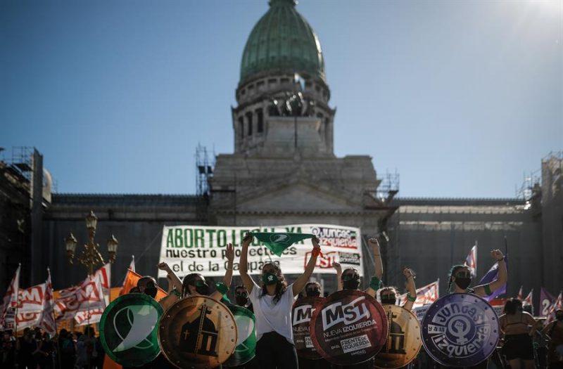 lucha feminista despenalizar aborto Argentina