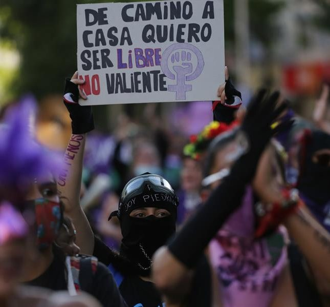 manifestación 25N Chile