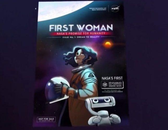 Latina cómic NASA