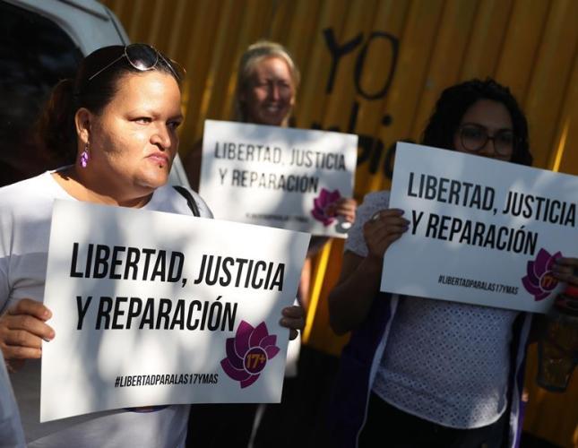 mujeres encarceladas abortar El Salvador