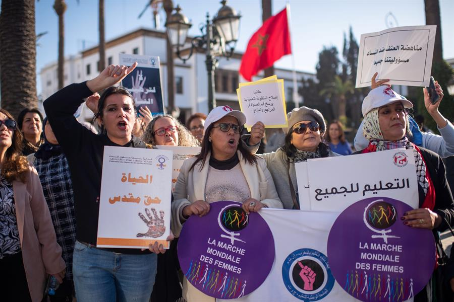 paridad poder mujeres marruecos