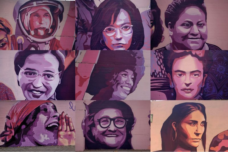 mural feminista