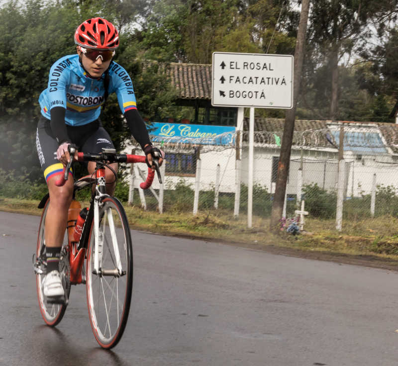 Paula Andrea ciclista
