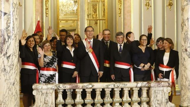 Gobierno Perú mujeres