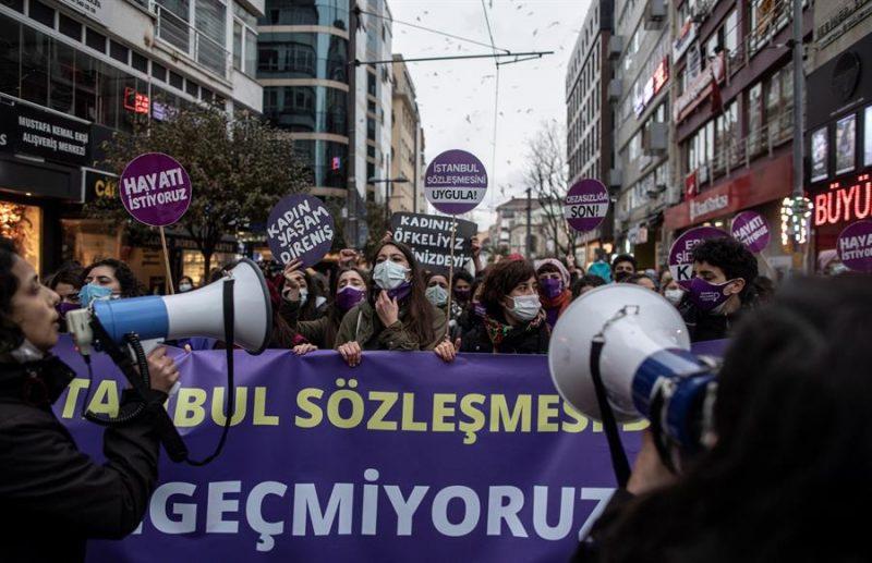 Turquia abandona tratado violencia machista