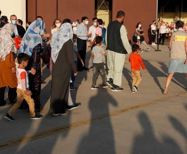 Refugiada afgana España
