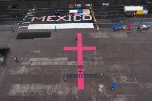 México protestas feminicidios