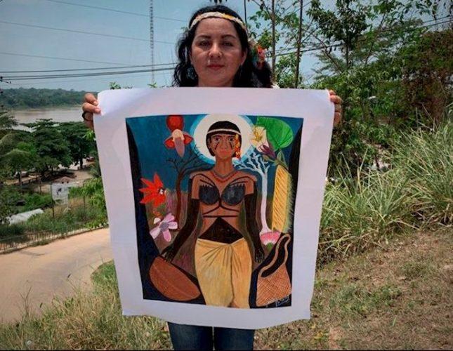 mujer indígena Harakbut