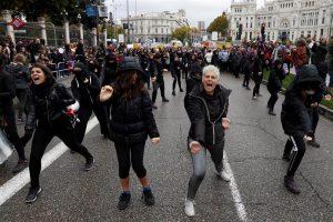 violencia machista manifestacion